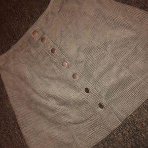 Skirts - Corduroy skirt
